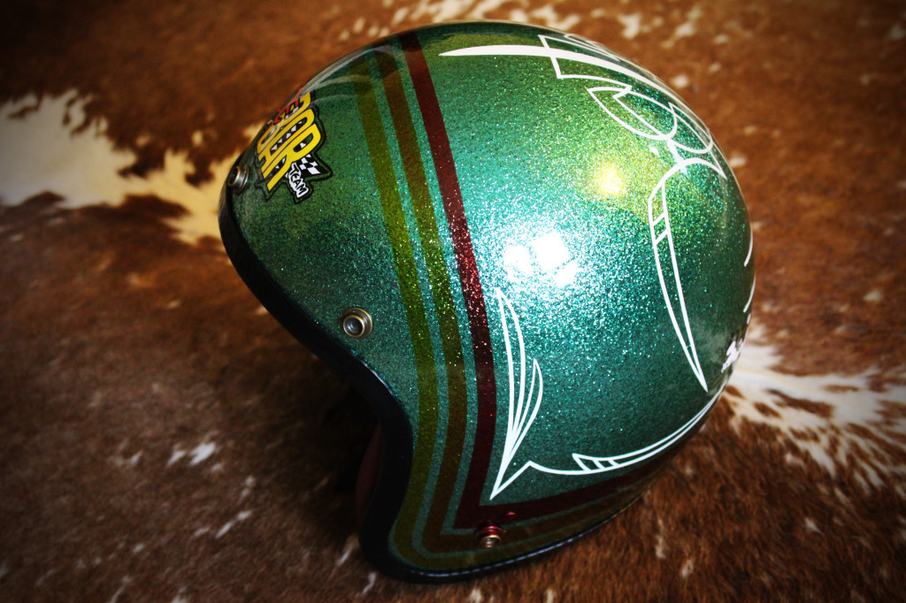 Joe Bar helmet