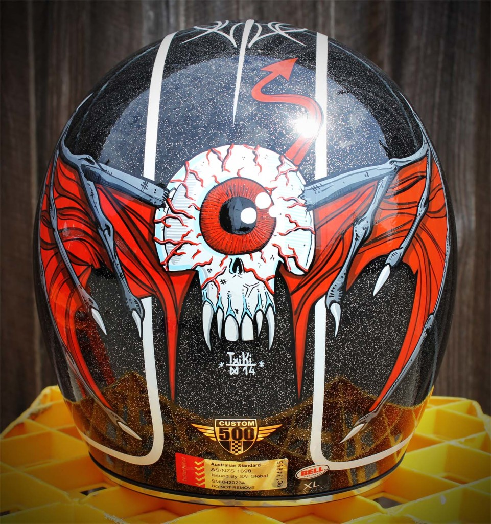 Brand new Bell custom 500, hand painted with one shot enamel paint. Extra large size. Black metal flake. helmet is brand new coming with bag in the box. price is $300, pick up from moorabbin or i can send all over Australia.
