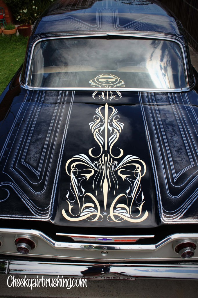 Chevrolet pinstriping
