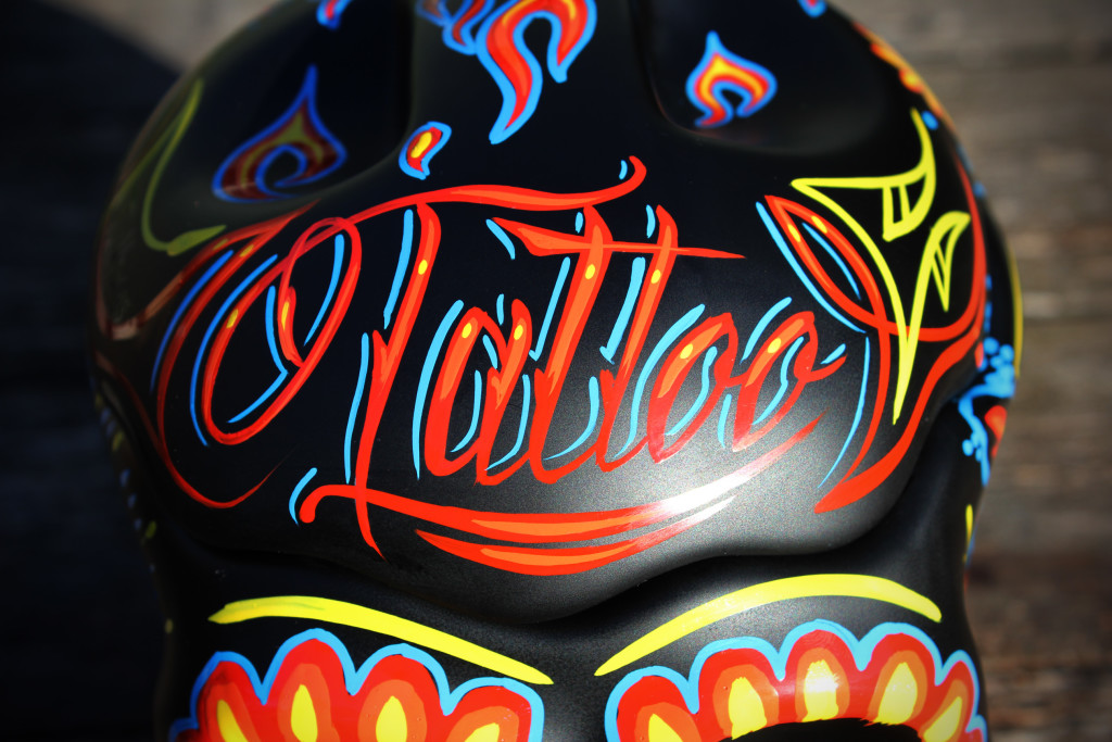 Lettering hand painted